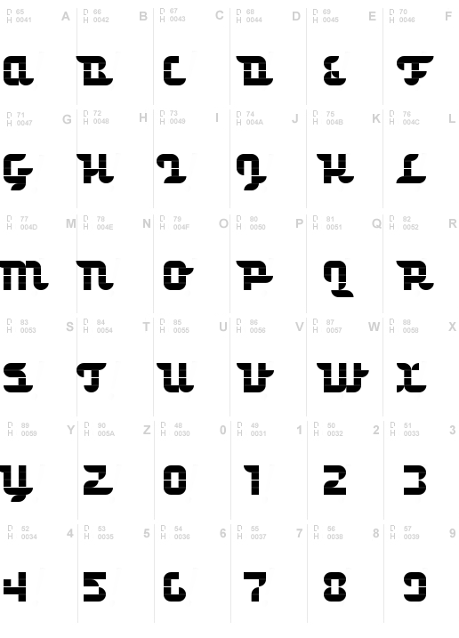 Structurosa Script Cloned Regular